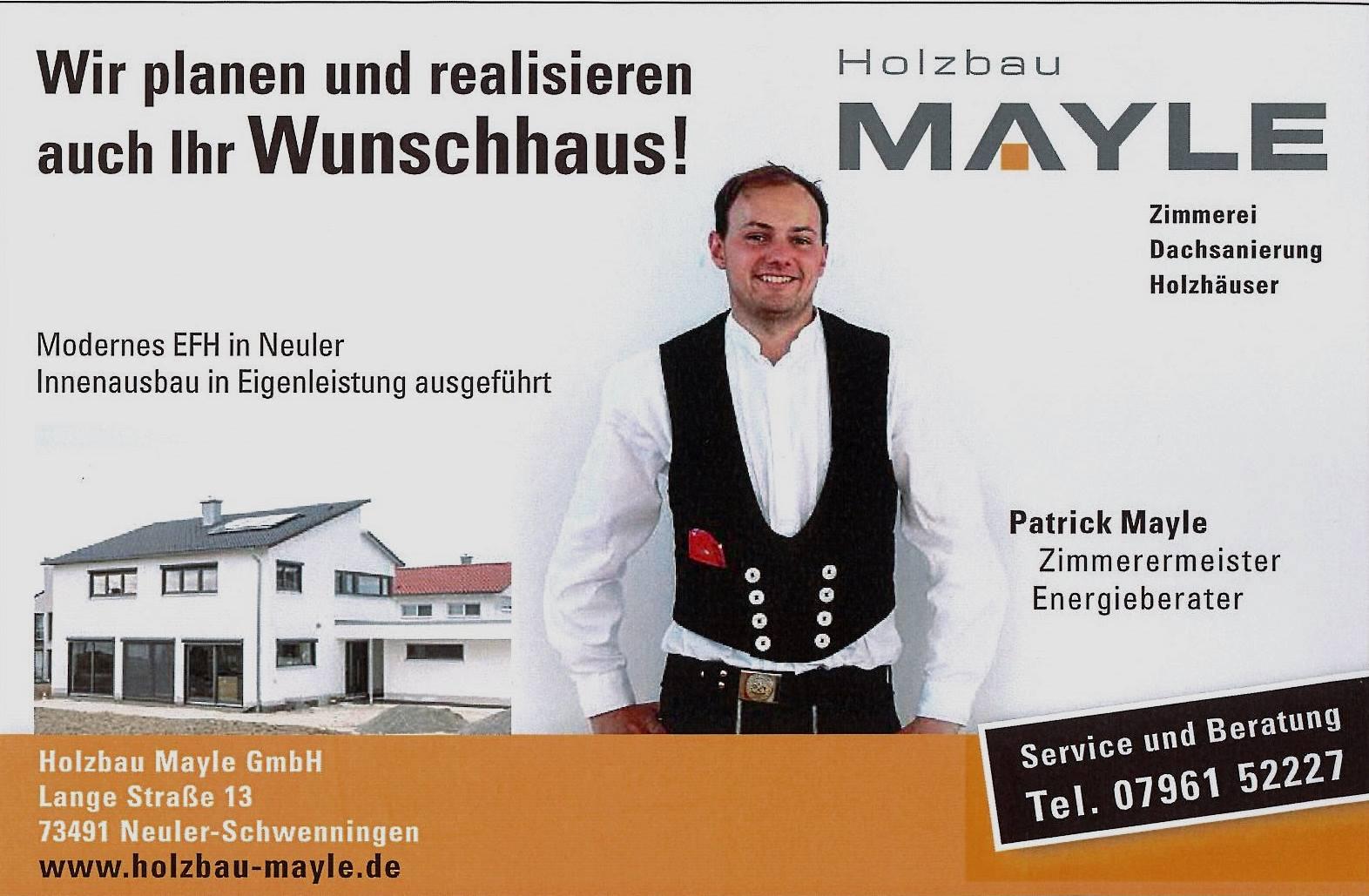 Patrick, Holzhaus Müller